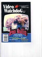 WoW! Video Watchdog #31 Re-Animator! The Innocents! Dr. Phibes! Diabolik! Casper