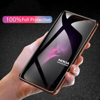 5D Full Cover Curved Edge Tempered Glass Screen Protector For NOKIA 7/7+ plus