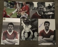 More details for 6 x manchester united signed a4 pictures