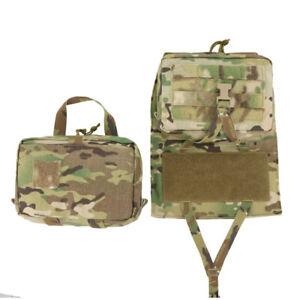 500D Molle Assault Back Panel Hydration Bag Back Pack for Hunting Tactical Vest