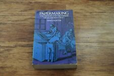 Papermaking by Dard Hunter Paper Making book FREE UK POSTAGE