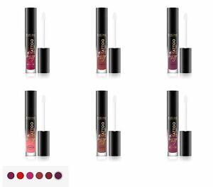 Eveline KISSY TATTOO LIP TINT- Long Lasting Liquid Lipstick