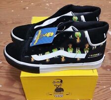 Vans X The Simpsons X Futura Mid Skool Size 11 supreme hosoi wtaps syndicate