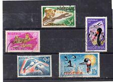Nigeria Fauna Valores del año 1965 (DK-148)