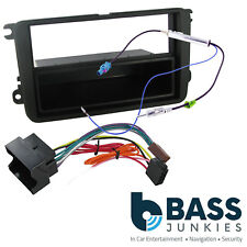 Skoda Fabia MK2 5J 07-14 SWING Car Stereo Single Din Fascia Panel & Fitting Kit