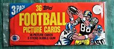 1982 TOPPS FOOTBALL 3 PACK Rookie Lott ? Taylor ? Munoz ? Unsearchable Payton ?