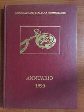ASSOCIAZIONE ITALIANA SOMMELIERS ANNUARIO 1990