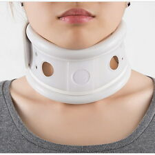 Neck Brace Support Cervical fixing band Collar Traction Pain Relief medical PVC