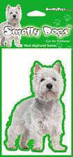 West Highland Terrier Westie New Design Fragrant Air Freshener