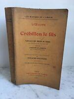 Las Maestros De el Amor L Obra de Crébillon El Hilo Guillaume Apollinaire1911