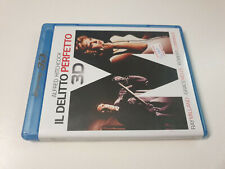 Blu-ray 3d + 2d the PERFECT MURDER Hitchcock Grace Kelly OOP