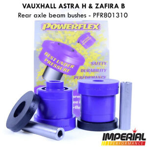 Astra H VXR POWERFLEX rear beam bushes MK5 SRI Z20LEH Z20LEL Z20LER PFR80-1310