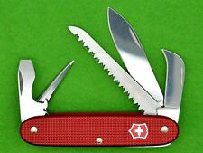 💚 SWISS ARMY KNIFE - VICTORINOX PIONEER HARVESTER BRÜTSCH-RÜEGGER - ALOX RED