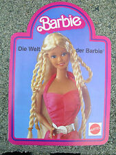 #8 German Barbie Booklet 1983 24 Pages European Specials Busy Western, Carriage