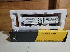 K-Line Northern Refrigerator Bananas Wood Sided Reefer K742-8030 (H94)