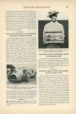 1933 Malcolm Campbell Bluebird Land Speed Racer Bonneville Race Car Supercharger