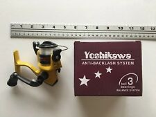 Yoshikawa  Bait Feeder spin fishing reel.
