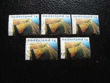 PAYS-BAS - timbre yvert et tellier n° 1635 x5 obl (A31) stamp netherlands (Z)
