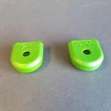 GREEN Race Face Large Crank Boots 2-Pack Pair for Carbon Cranks NEW