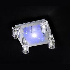 WOFI lámpara LED de techo Mirage 6 luces cristal DADO Control remoto RGB Lámpara