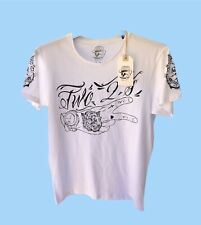 rum knuckles White  t shirt Size M
