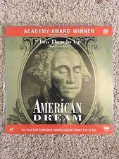 American Dream Laserdisc - VERY RARE