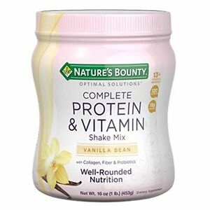 Protein Powder with Vitamin C by Nature's Bounty Optimal Solutions, Contains Vit
