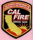 California Division of Forestry & Fire Prot Fire Patch
