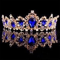 Bridal Wedding Tiara Crown Women Lady Crown Rhinestone Crystal Hair Accessories