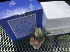 More details for peter rabbit 1996 vintage figurine world of beatrix potter frederick warne & co