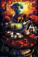 RICHARD BIFFLE ~ ALICE IN WONDERLAND MAD HATTER 24x36 FANTASY ART POSTER