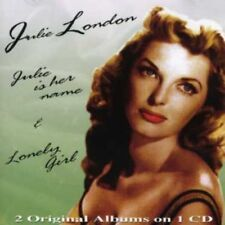 JULIE LONDON - JULIE IS HER NAME & LONELY GIRL  CD NEUF
