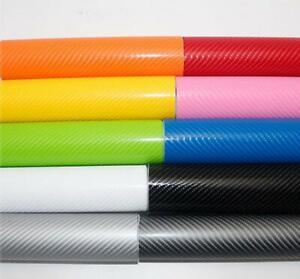 4D Vinyl Wrap Sheet Roll Sticker (Air/Bubble Free) All Colours Multiple Sizes