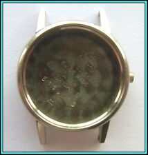 Bezel and Lid - Swiss Made Omega Stainless Steel Ladies Case: With