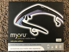Private Monitor Video Viewer Glasses TFT LCD For Ipod And Iphone 4 MyVu