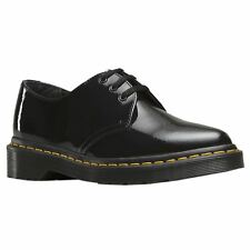Women's Dr. Martens Dupree Pointed Toe Lace-up Shoes in Black UK 6 / EU 39