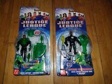 DC Justice League Action Figure Lot of 2 JLU Mattel Green Lanterns  1H