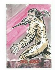 DEADWORLD GEMMA MAGNO SKETCH CARD NEW YORK COMIC CON 2012 EXCLUSIVE SKETCH C