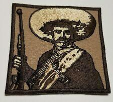 "EMILIANO ZAPATA MEXICO FREEDOM BIKER VES JACKET PATCH ZISE 3""X3"" NEW PATCH"