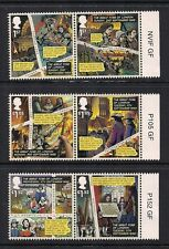 2016 GB QE2 GREAT FIRE OF LONDON COMMEMORATIVE STAMP SHEET PRICE RHS MARGIN PAIR