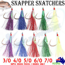 Snapper Flasher Rigs Snatcher Circle Hooks Rig Fishing Flashers Lure Paternoster