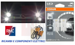 Lampade Lampadine led Osram DRL luci diurne T20 W21W per Fiat 500 Abarth 595 695