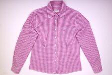 Schöffel Hemd Bluse Rose Karriert Damen Größe 40