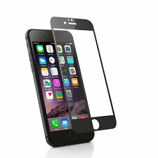 Apple Iphone 6 Plus Tempered Glass Coloured Black tempered glass screen 0.3ml 9h