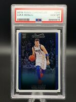 2018 Panini Prizm Chronicles Studio #296 Luka Doncic Rookie Rc PSA 10 Gem Mint