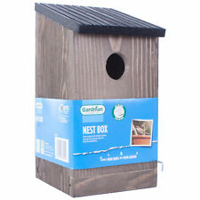 WOODEN NEST BOX - 32MM ENTRANCE HOLE