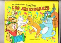 Album animé. Les Aristochats. Hachette 1982. Artia