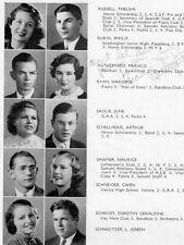 1935 Santa Monica CA High School Yearbook~Photos~Baseball~History~Cartoons~++++