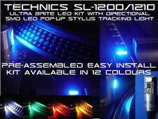 TECHNICS SL1200/1210 ULTRA BRITE KIT LED con DIREZIONALE LED SMD STILO LUCE