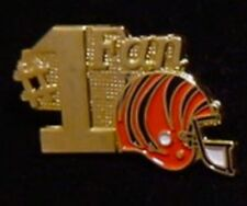 Cincinnati Bengals Pin ~ #1 Fan ~ NFL ~ 80's vintage ~ Football